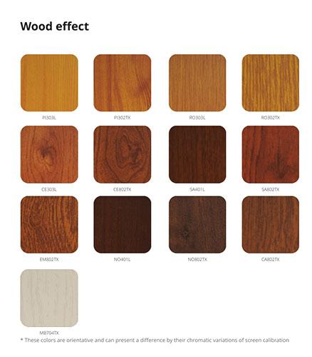 Acabados Brila (Efecto madera)